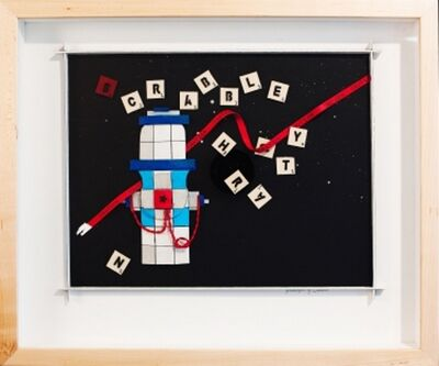 Katharine Owens, 'Scrabble Hydrant - Blue ', 2012