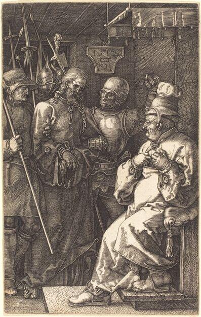 Albrecht Dürer, 'Christ before Caiaphas', 1512