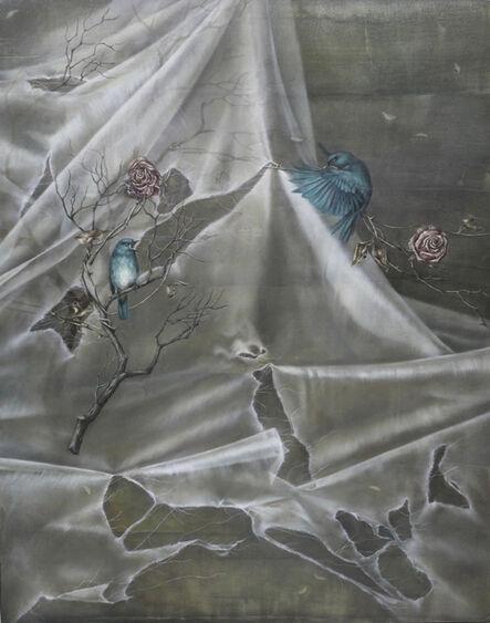 Han-Ting Tsai 蔡函庭, 'Gray sadness 幸福的青鳥 V:灰色的悲切', 2018