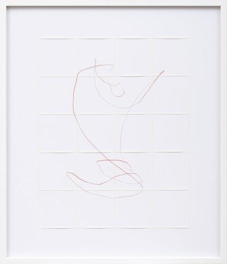 Katharina Hinsberg, 'Gitter Linien 2013_047', 2013