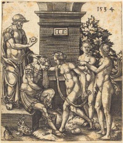 Master S, 'Judgment of Paris', 1534