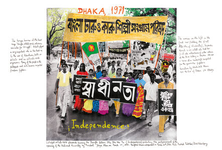 Marcelo Brodsky, 'From the series 1968: The fire of Ideas, Dhaka, 1971', 2014-2019