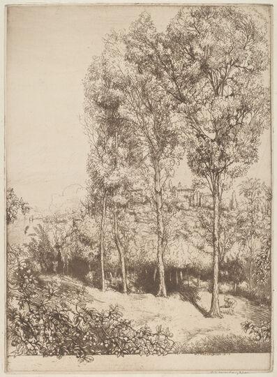 Donald Shaw MacLaughlan, 'Sunlight and Shadows, No. 3', 1913