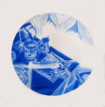 Kristina Bength, 'Cobalt; Ferromagnetic, Hexagonal, Close-Packed #8', 2017