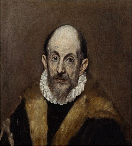 El Greco, 'Portrait of an Old Man', 1595-1600