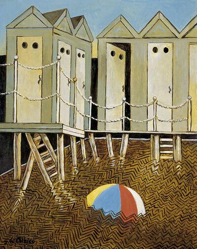 Giorgio de Chirico, 'Bagni misteriosi', ca. 1974