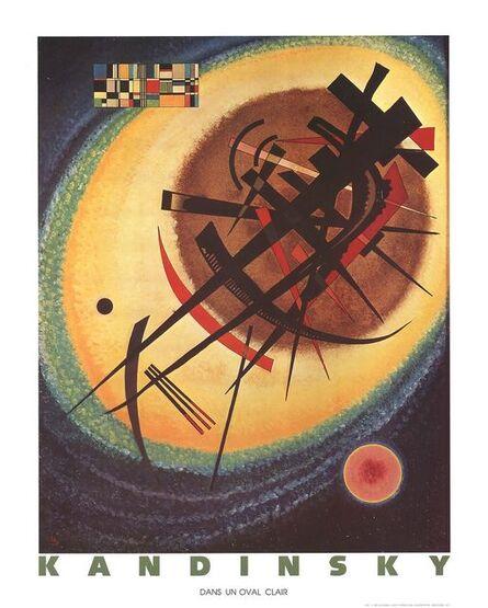 Wassily Kandinsky, 'Bright Oval', 1990