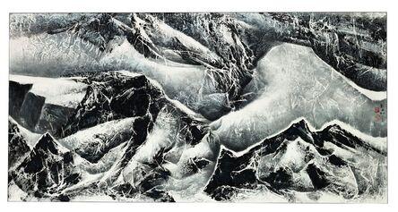 Liu Kuo-sung 刘国松, 'Snow Mountain Series A', 2012