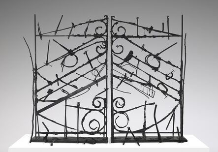 Jim Dine, 'Crommelynck Gate With Tools', 1983
