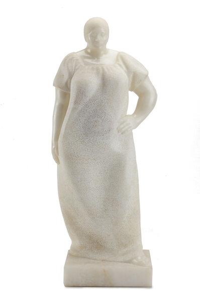 Felipe Castaneda, 'Standing woman'