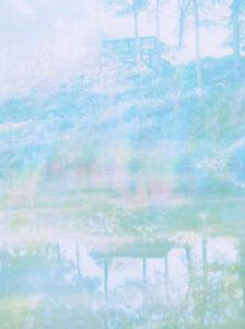James Welling, 'Vertical Lake', 2007