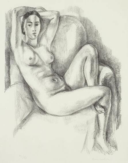 Henri Matisse, 'Nu au coussin bleu', 1924