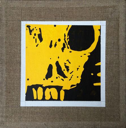 Marco Arce, 'CRÁNEO AMARILLO (Yellow skull)', 2017