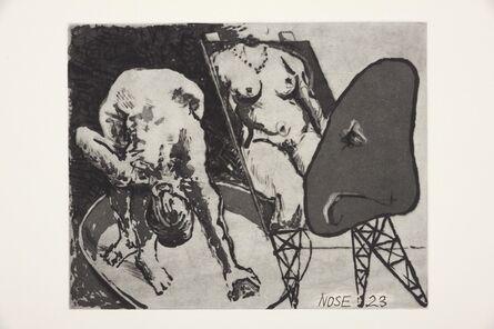 William Kentridge, 'Nose 23', 2008