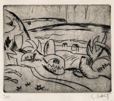 Karl Schmidt-Rottluff, 'Ostseeküste', 1920