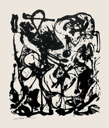 Jackson Pollock, 'Untitled (After CR#333)', 1951