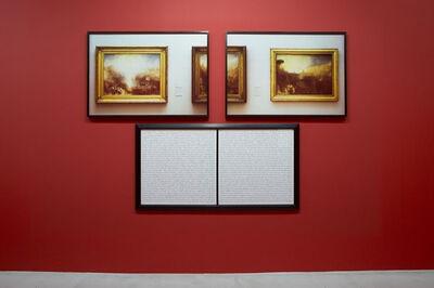 Sophie Calle, 'Purloined : Turner / Tableaux dérobés : Turner', 1998-2013