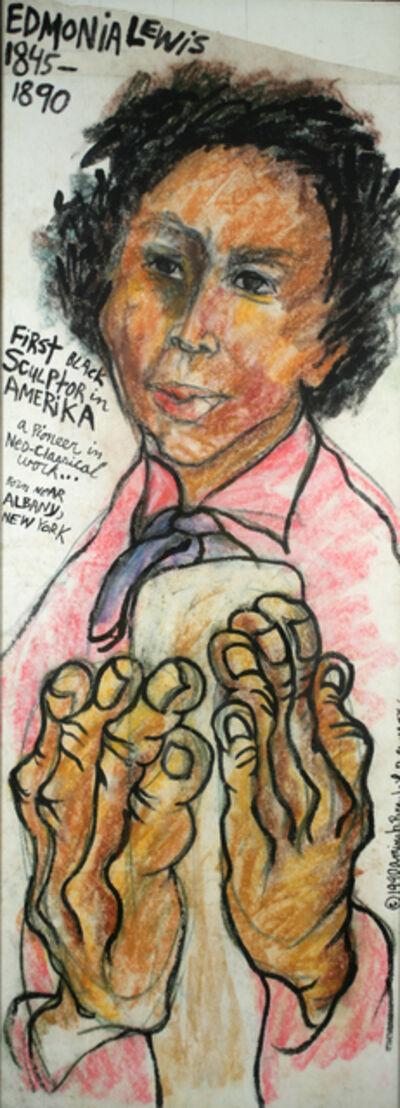 Aminah Brenda Lynn Robinson, 'Edmonia Lewis/ Sculptor - A Clutch of Blossom Series', 1990