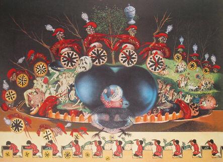 Salvador Dalí, 'Les Montres Molles Demi Sommeil', 1977