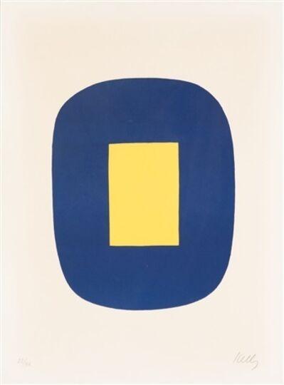 Ellsworth Kelly, 'Blue and Yellow', 1965