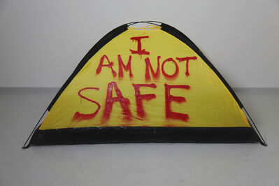 Thierry Geoffroy /COLONEL, 'I AM NOT SAFE', 2017