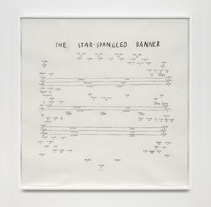 Christine Sun Kim, 'The Star-Spangled Banner (Third Verse)', 2020