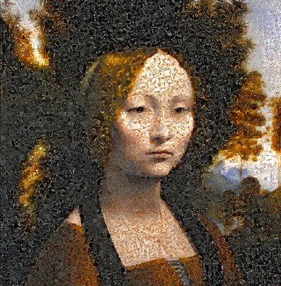 Andrea Morucchio, 'Ginevra de' Benci   Puzzling Renaissance series ', 2019