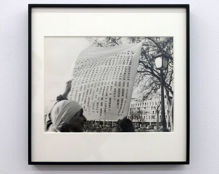 Lea Lublin, 'Dissolution dans L´eau pont Marie - 17 heures, 1978 Paris 11th of May', 1978