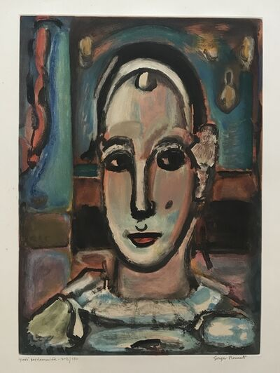 Georges Rouault, 'Pierrot', 1950