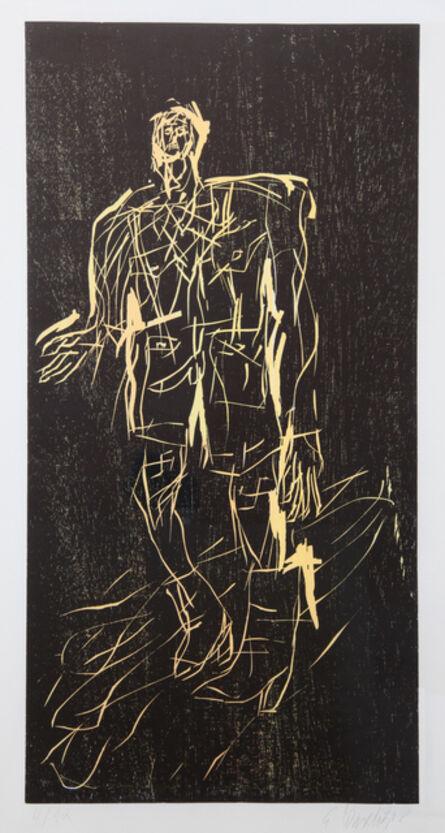 Georg Baselitz, 'Poet in Stiefeln (Remix) (Poet in Boots (Remix))', 2008