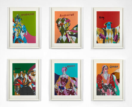 Yinka Shonibare, 'Unstructured Icons', 2018