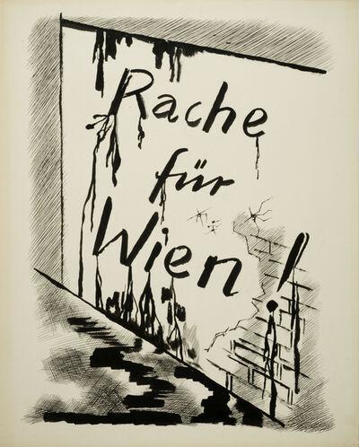 George Grosz, 'Rache für Wien (Revenge for Vienna)', 1927