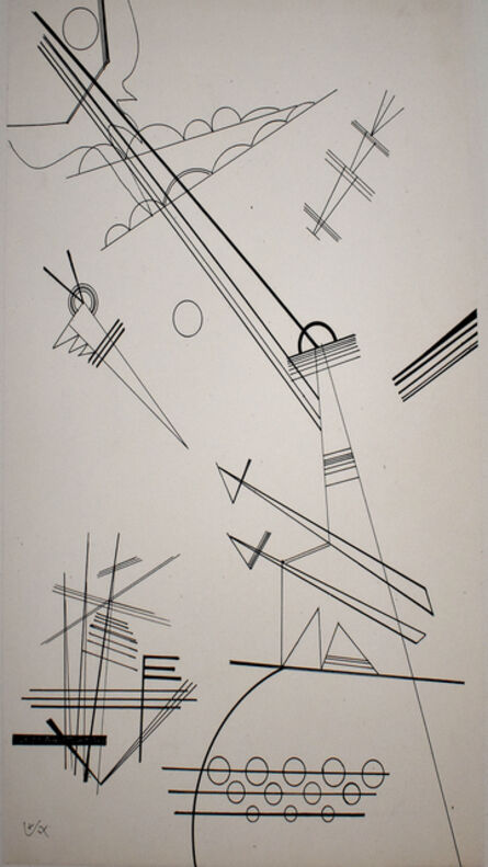 Wassily Kandinsky, 'Untitled (For Grohmann)', 1927