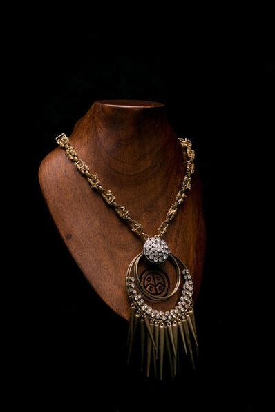 Arthur Koby, 'A13 Hoop pendant with chain'