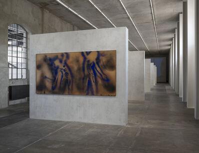 Yves Klein, 'Peinture feu coleur sans titre (FC 1)', 1962