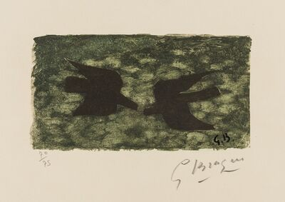 Georges Braque, 'Le Pays Total (see Vallier p.300)', 1962