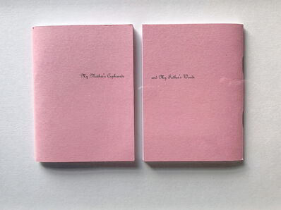Anna Fox, 'My Mother's Cupboards and My Father's Words (00 covers)', 1999