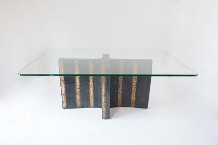 Paul Evans (1931-1987), 'Welded Steel Dining Table', 1965