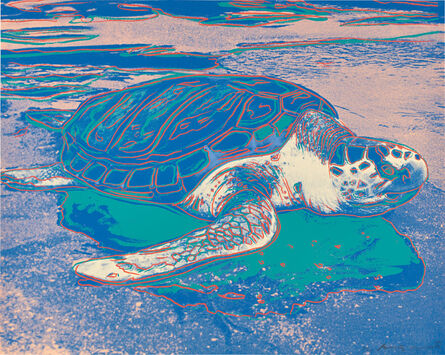 Andy Warhol, 'Turtle (F. & S. 360A)', 1985