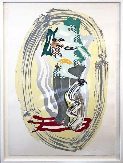 Roy Lichtenstein, 'Green Face from Brushstroke Figures Series ', 1989