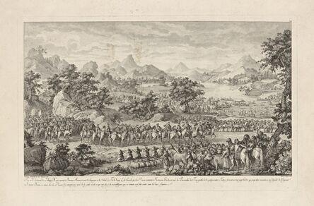 Isidore-Stanislaus-Henri Helman, 'Fou-te Lieutenant de Tchao-hoei poursuit Amour-sana.. (plate VIII)', 1783