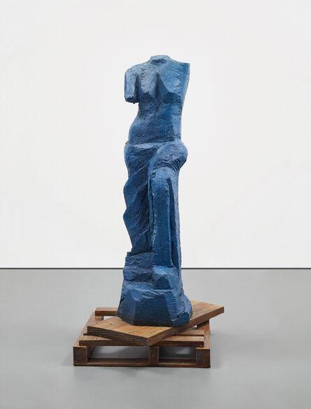 Jim Dine, 'The Zebra (The Blue Version)', 2010