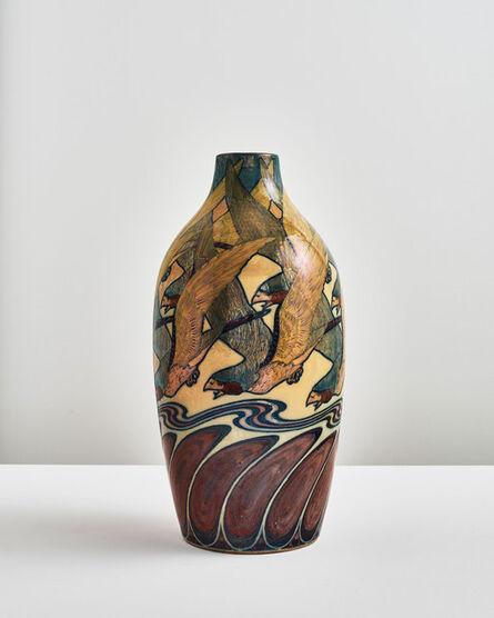Galileo Chini, 'Eagle Vase', 1900-1904