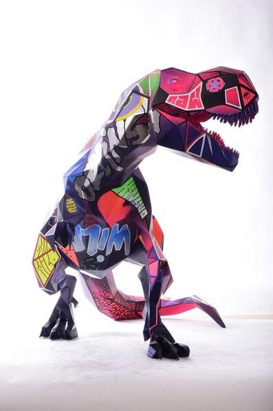 Richard Orlinski, 'T-Rex', 2021