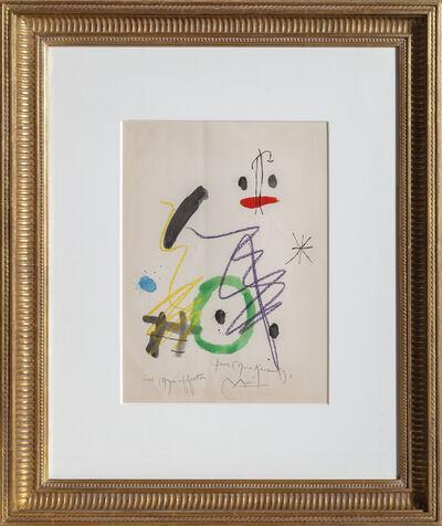 Joan Miró, 'Quelques Fleurs pour des Amis (Pour Mme. Kandinsky)', 1964