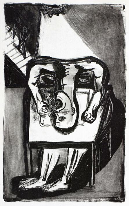 Klaus Killisch, 'Der Schreiber', 1989