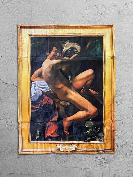 Julio Anaya Cabanding, 'Michelangelo Merisi da Caravaggio. San Juan Bautista', 2020