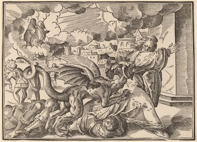 Christoph Murer, 'The Four Horsemen of the Apocalypse', published 1630