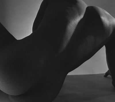 Horst P. Horst, 'Male Nude, Back Study, New York', 1952