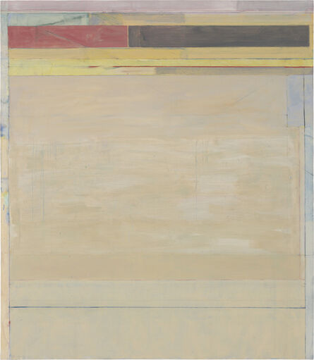 Richard Diebenkorn, 'Ocean Park #124', 1980